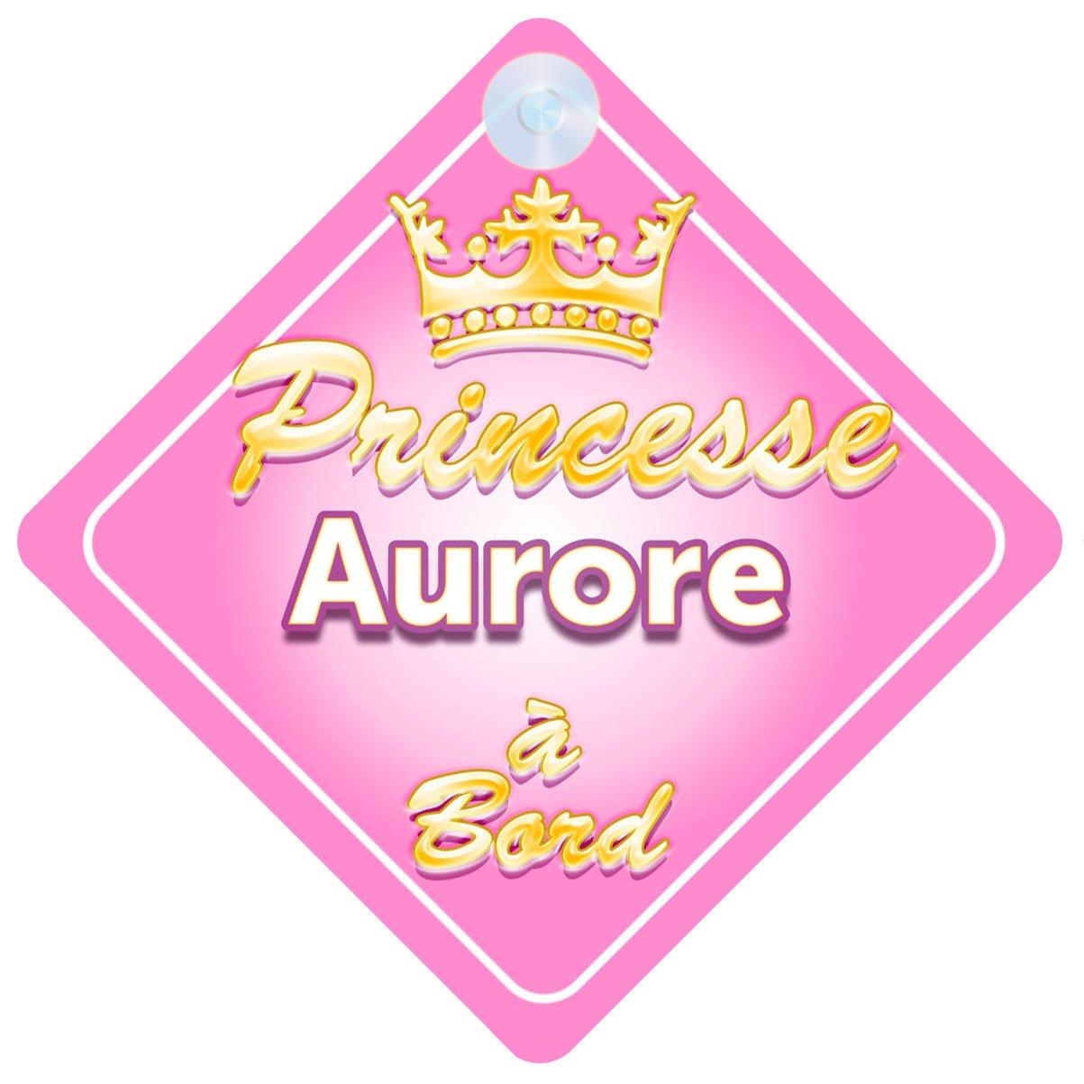 Couronne Princesse Aurore Signe Pour Voiture Enfant/Bébé à Bord Quality Goods Ltd