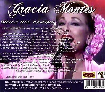La Voz De Cristal De Bohemia: Gracia Montes: Amazon.es: Música