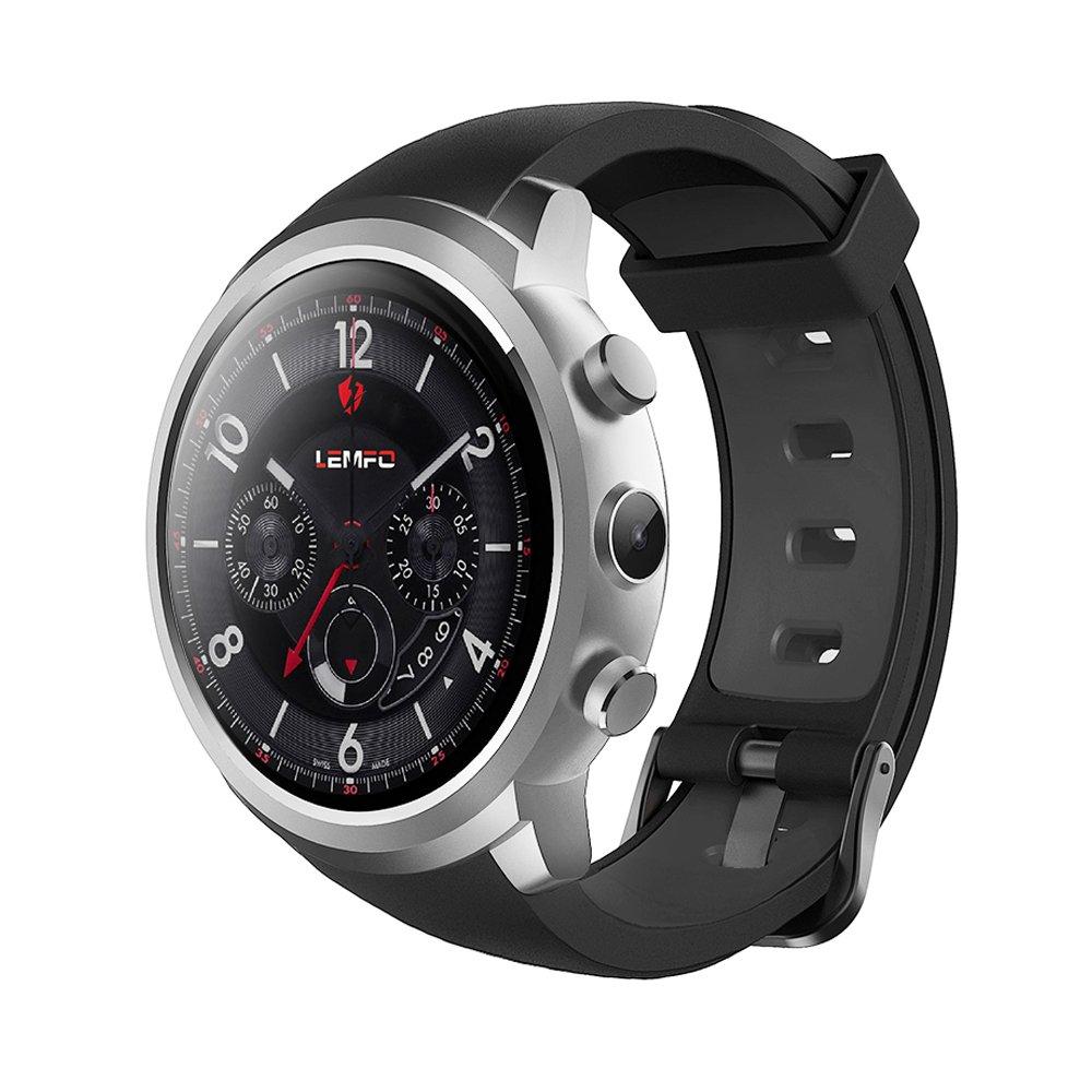 LEMFO BT4.0 3G Tarjeta Inteligente Reloj Smart Watch Teléfono RAM 512M + ROM 8G Nano Tarjeta SIM 1.3