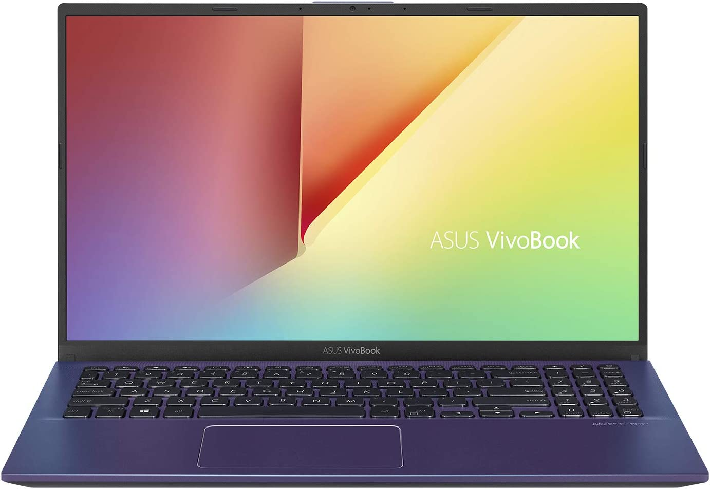 "ASUS VivoBook 15 Thin and Light Laptop, 15.6"" Full HD, AMD Quad Core R5-3500U CPU, 8GB DDR4 RAM, 128GB SSD + 1TB HDD, AMD Radeon Vega 8 Graphics, Windows 10 Home, F512DA-EB55-BL, Peacock Blue"