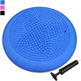Air Stability Wobble Cushion with Free Pump,KIDS Wiggle Seat,Extra Thick Core Balance Disc, Improves Focus For Students (Office & Home & Classroom)