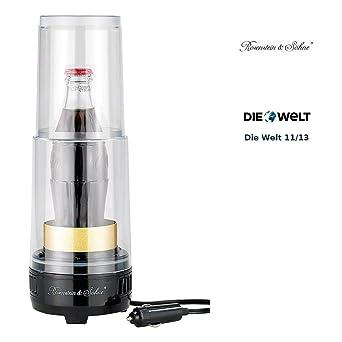 Rosenstein & Söhne – Calentador de bebidas piezoeléctrico & – Enfriador twk125