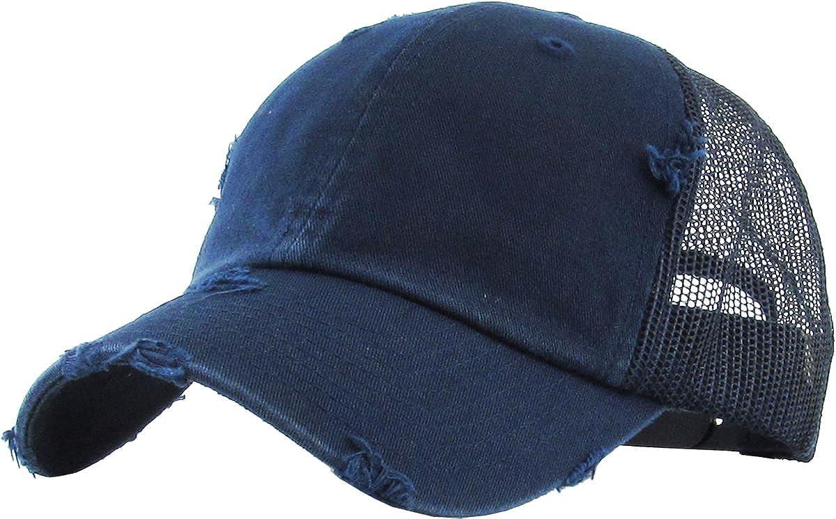Funky Junque Women/'s Adjustable Athletic Trucker Hat Mesh Baseball Cap Dad Hat
