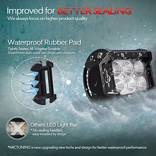 MICTUNING-06-series-2pcs-18W-36W-CREE-LED-Lights-Bar-4×4-Off-Road-Boat-Driving-headlights-Jeep-Polaris-Razor-ATV-SUV-UTV-Car-Truck