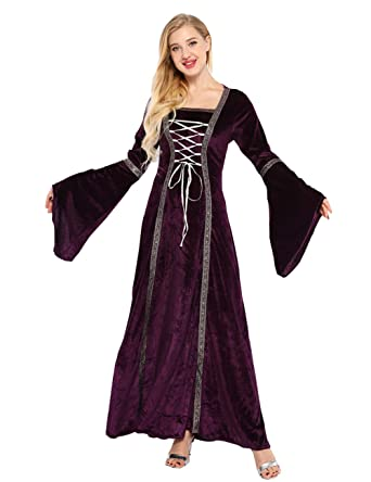ed7d18254d0 Amazon.com  Colorful House Plus Size Medieval Dress