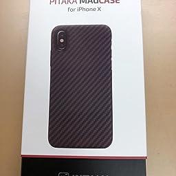 Amazon Co Jp カスタマーレビュー Pitaka Magez Case Iphone Xケース対応 スマホケース 軍用防弾チョッキ素材アラミド繊維 超薄 0 85mm 超軽量 14g 超頑丈 耐衝撃 高耐久性 スリム 薄型 ワイヤレス充電対応 黒 グレ ツイル柄