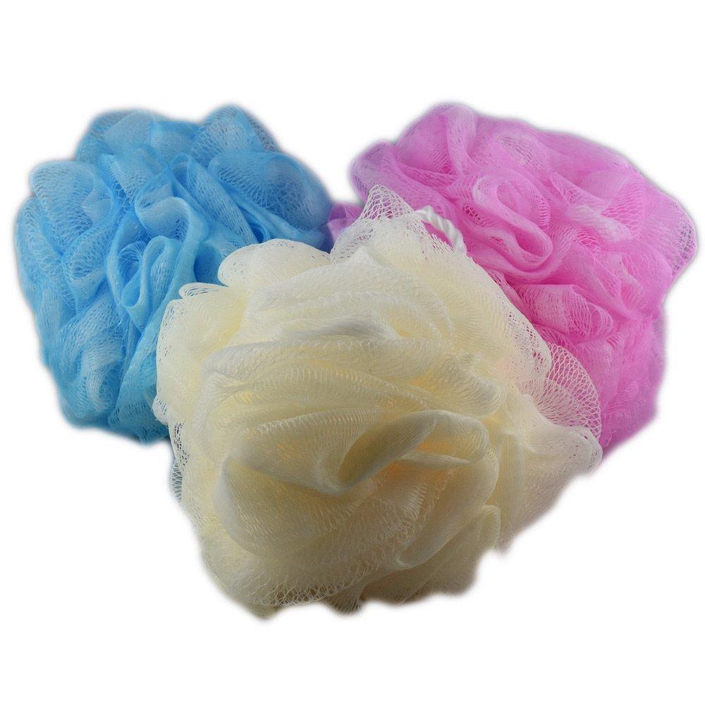 Fleur de Massage - Fleur de Bain - Taille XL - Assortiment Lot de 3