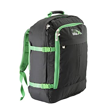 eb7175270d Cabin Max Metz Backpack Flight Approved Carry on Bag 44 Litre Travel Hand  Luggage - 55x40x20