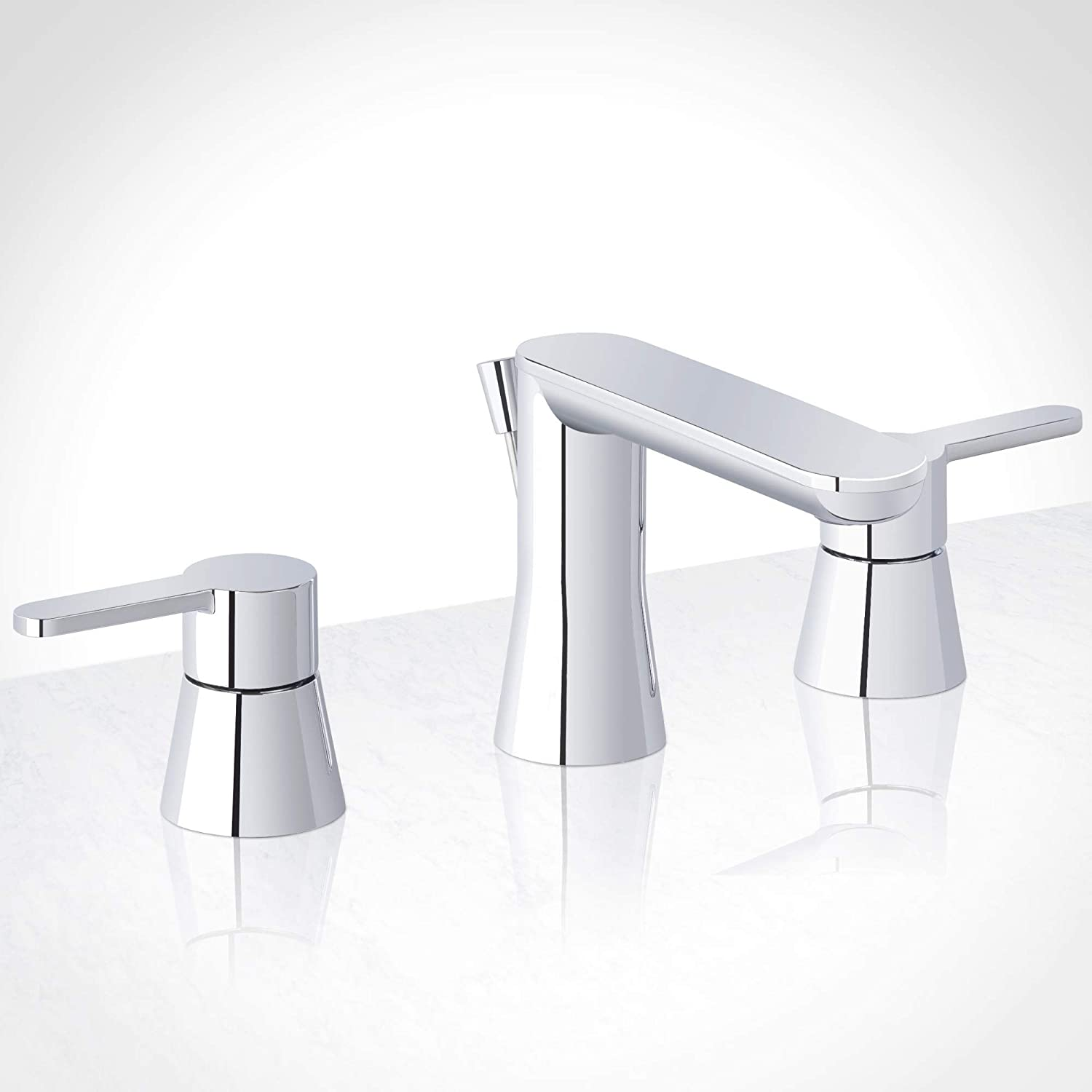Miseno ML361 Mia-G Widespread Bathroom Faucet - Includes Pop-Up Drain Assembly