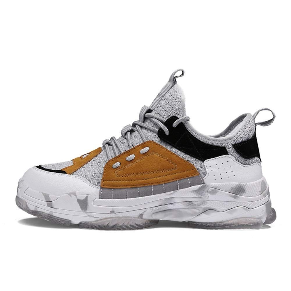 Qiusa Shock Abosorbing Laufschuhe Laufschuhe Laufschuhe für Männer Breathable Durable Non Slip Schuhe (Farbe   Gelb, Größe   EU 40) ba150c