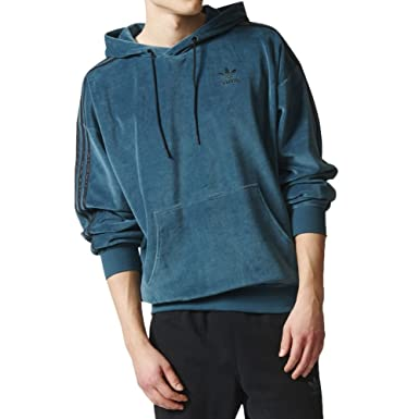 2958279c0783 adidas Hoody - OB Vel Green Black Size  L (Large)  Amazon.co.uk  Clothing