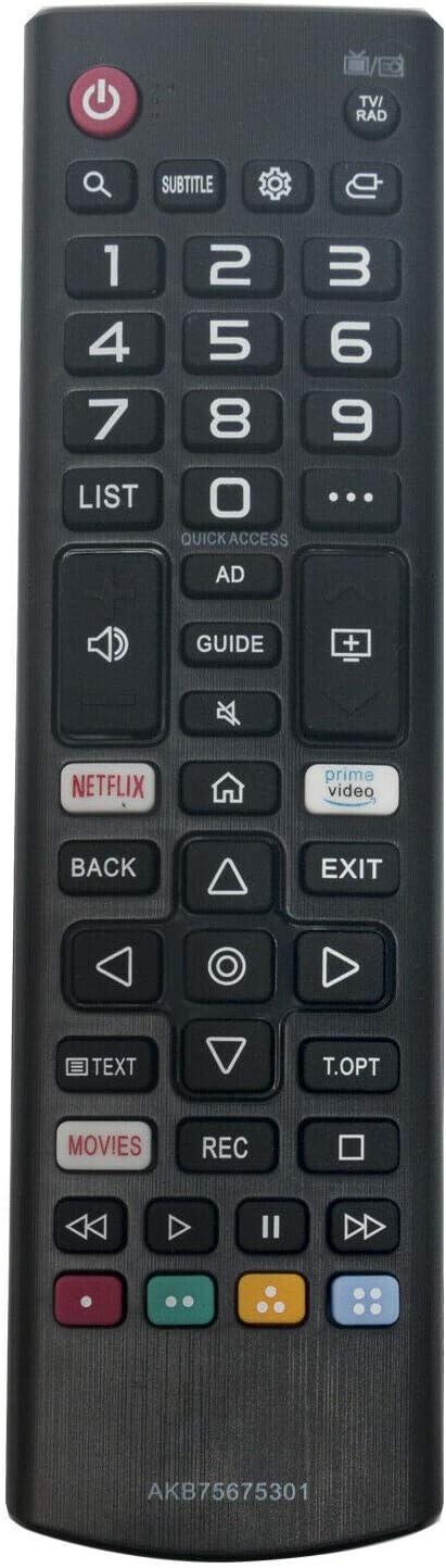Ersatz TV Fernbedienung für LG 29LN4575ZI Fernseher