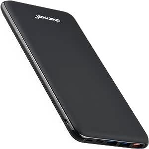 Charmast Batería Externa 26800mAh Power Bank Power Delivery QC 3.0 Quick Charge Cargador Externo con 3 Entradas y 4 Salidas Cargador Tipo C Micro USB Compatible con iPhone,MacBook,iPad,Samsung
