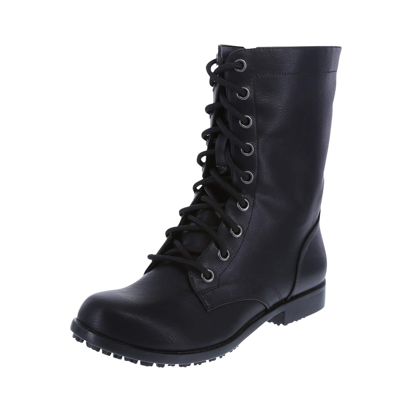 safeTstep Slip Resistant Women's Brooke Lace-Up with Zipper Boot