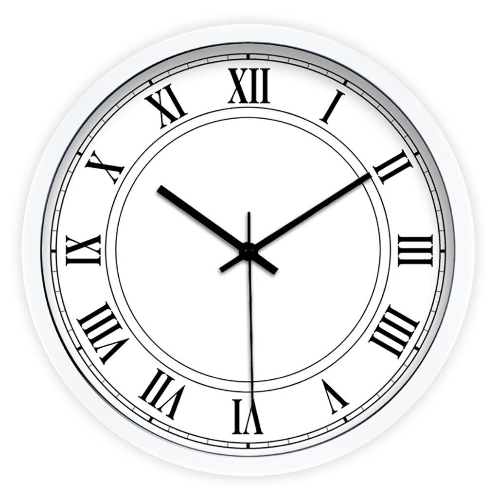 Nombre del producto: Reloj de pared de cuarzo silencioso de metal Forma: redonda Dimensiones: 12 pulgadas (30.5 cm de diámetro) 14 pulgadas (35.5 cm de diámetro) 16 pulgadas (40.5 cm de diámetro) Material de Shell: Metal Espejo material: vidrio Material del dial: PVC B07DVPP4ZS 30.5cm|B B 30.5cm