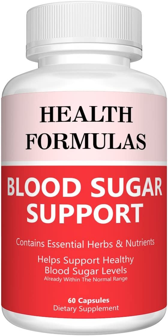 Blood Sugar Support Supplement Made Of A Superb Cinnamon, Herbs, Vitamins Nutrients Blend Helps Support Healthy Blood Glucose Levels