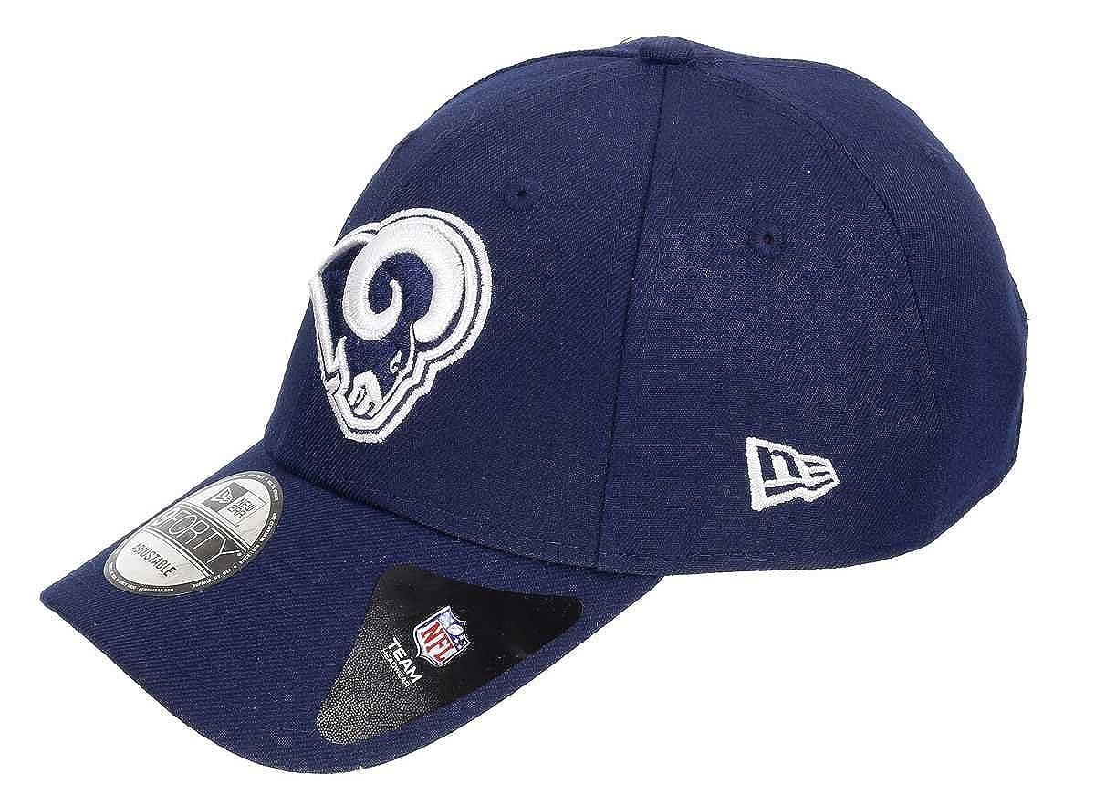 New Era 9Forty The League LA Rams Cap Strapback Basecap Baseballcap Kappe Baseballkappe Baumwollcap mit Schirm