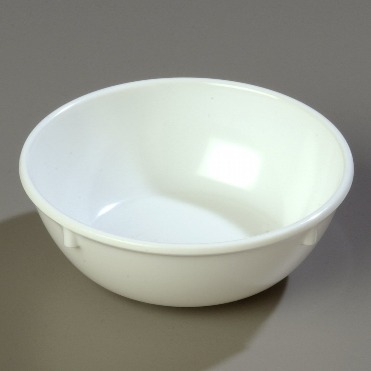Amazon Com Carlisle 4352802 Dallas Ware Melamine Nappie Bowl 10 Oz Capacity 4 96 X 1 81 White Case Of 48 Industrial Scientific