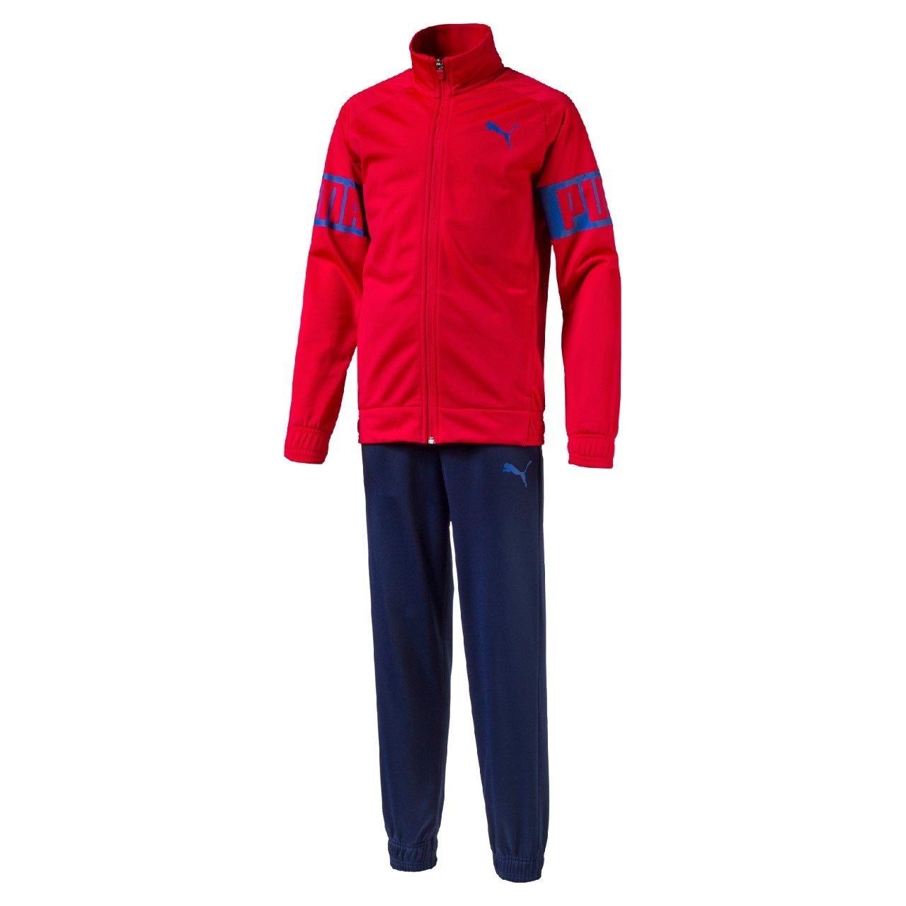 PUMA Chándal Junior Rebel Suit Rojo 14 A: Amazon.es: Ropa y accesorios