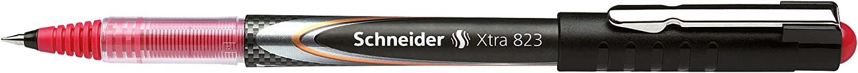 Konusspitze aus Edelstahl rot 0,3 Carbon-Optik Schneider Schreibger/äte Tintenroller Xtra 823