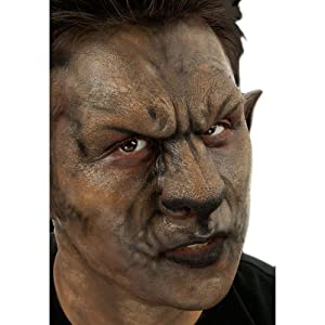 Woochie Classic Latex Noses - Professional Quality Halloween Costume Makeup - Wolf Set