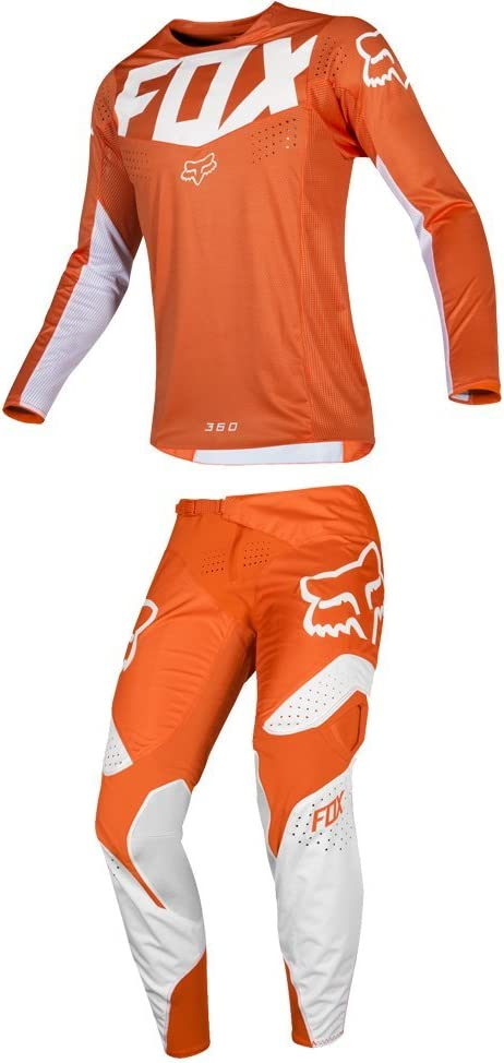 Fox Racing 2019 180 COTA Jersey and Pants Combo Offroad Gear Set Adult Mens Red Large Jersey//Pants 34W