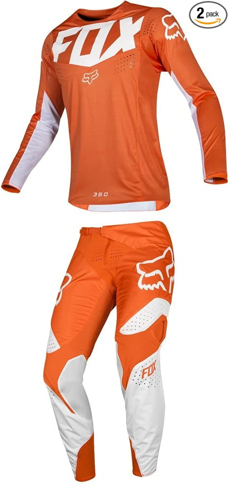 Fox Racing 2019 180 PRZM Jersey and Pants Combo Offroad Gear Set Adult Mens Navy//Yellow Medium Jersey//Pants 30W