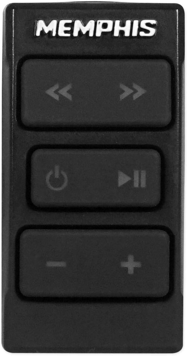 6.5 3-Way Speakers Memphis Hidden Hide Away Classic Car Stereo Receiver+ 4