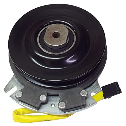 Amazon.com : Electric PTO Clutch For Warner 5218-32 Shaft Size 1 inch Belt Type A/B Pulley Diameter 6 inch Torque : Garden & Outdoor