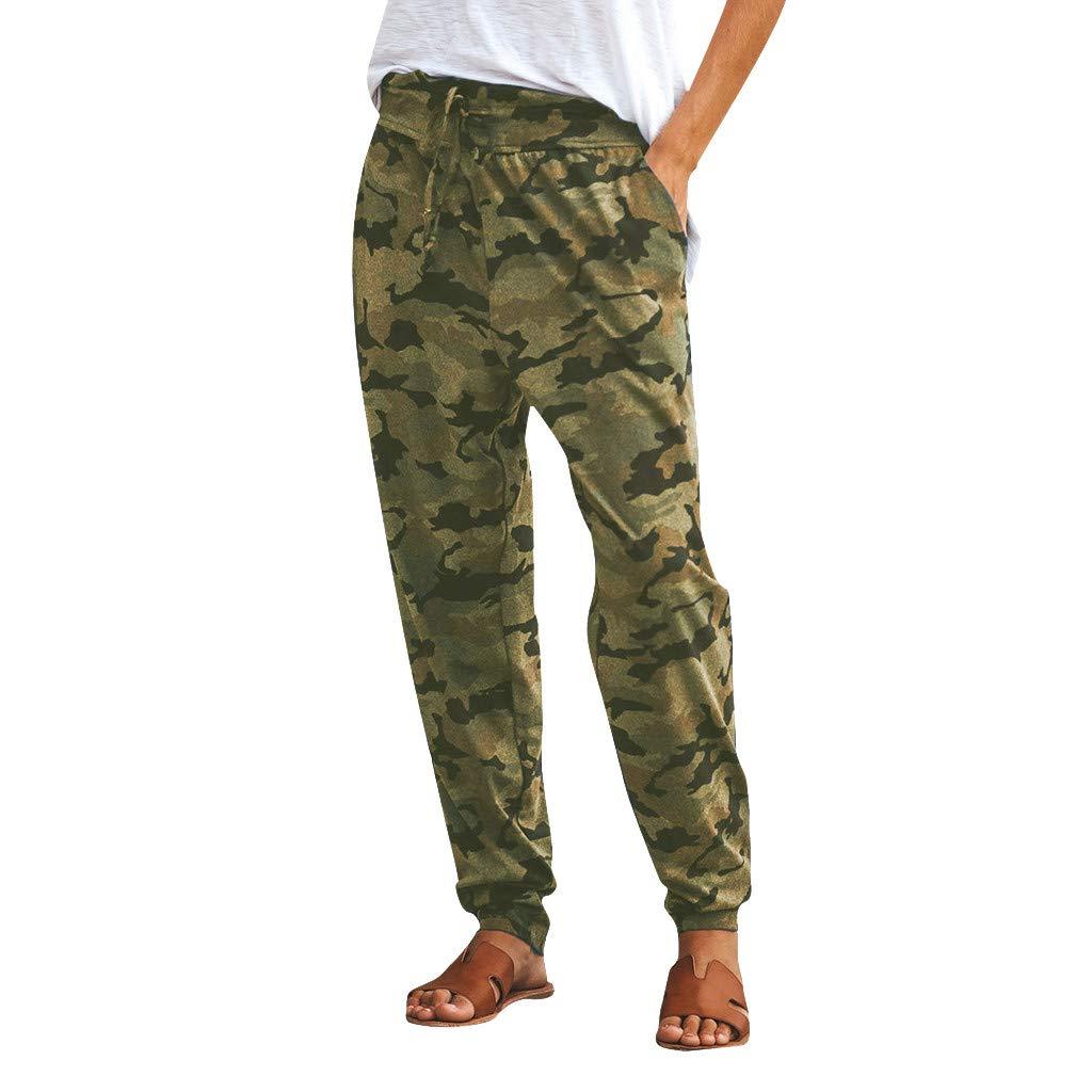 Amazon.com: Sunyastor - Pantalones de chándal para mujer con ...