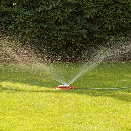 Rasensprenger Garten Flächenregner mit Erdspieß 8 fach