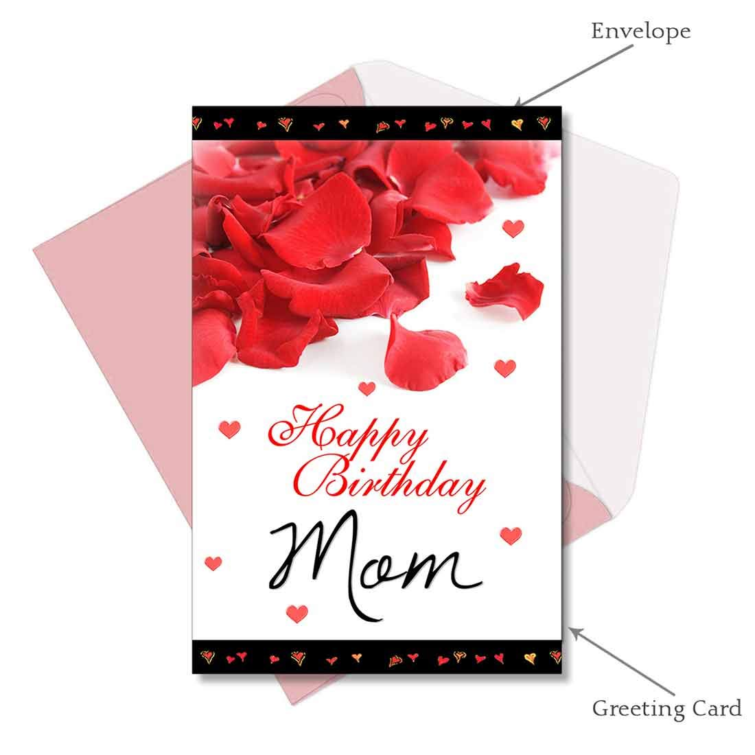 Happy Birthday Mom Greeting Card: Amazon.in: Office Products