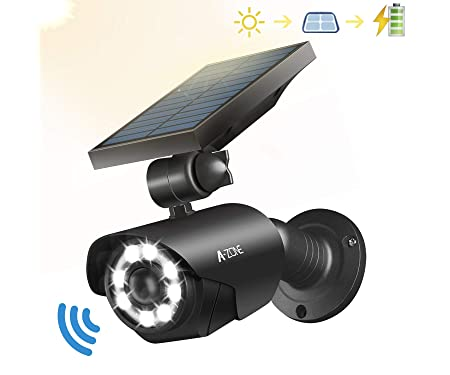 A-ZONE Solar Motion Sensor Light Outdoor