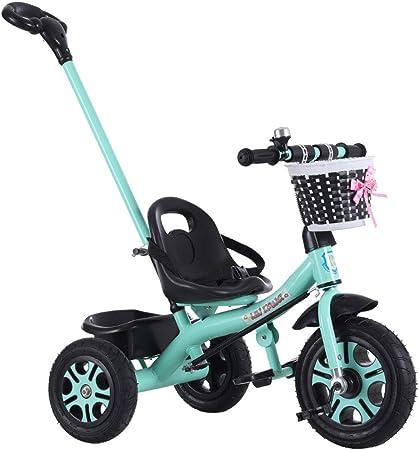Xiao ping Triciclo para niños, Carro, Bicicleta para bebés, 2-5 años: Amazon.es: Hogar