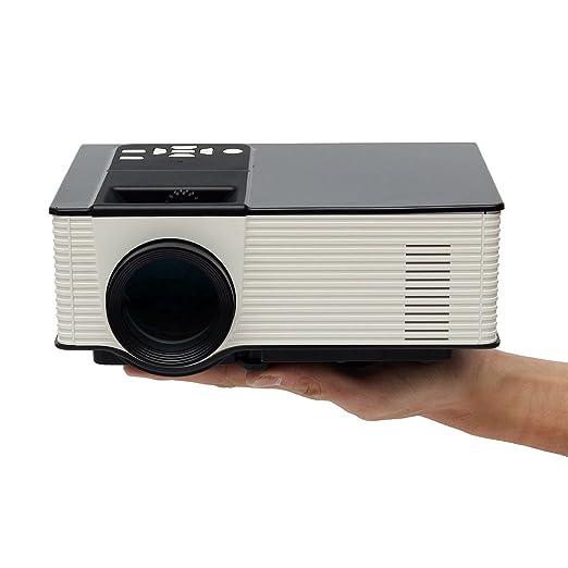66 opinioni per Mini WiFi Bluetooth Proiettore, ELEGIANT Proiettore Digitale HD Home Theater