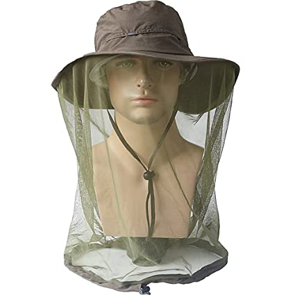 Beekeeping Bee Hat Net Head Face Protector Cap Insect For Outdoor Fishing Hiking Home & Garden Garden Supplies