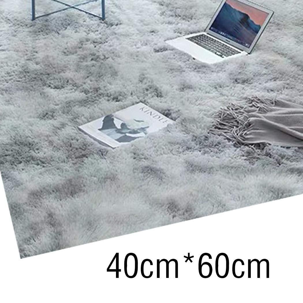 Blu tiowea 40 x 60 cm Tappeto Moderno Ultra Morbido per la cameretta dei Bambini