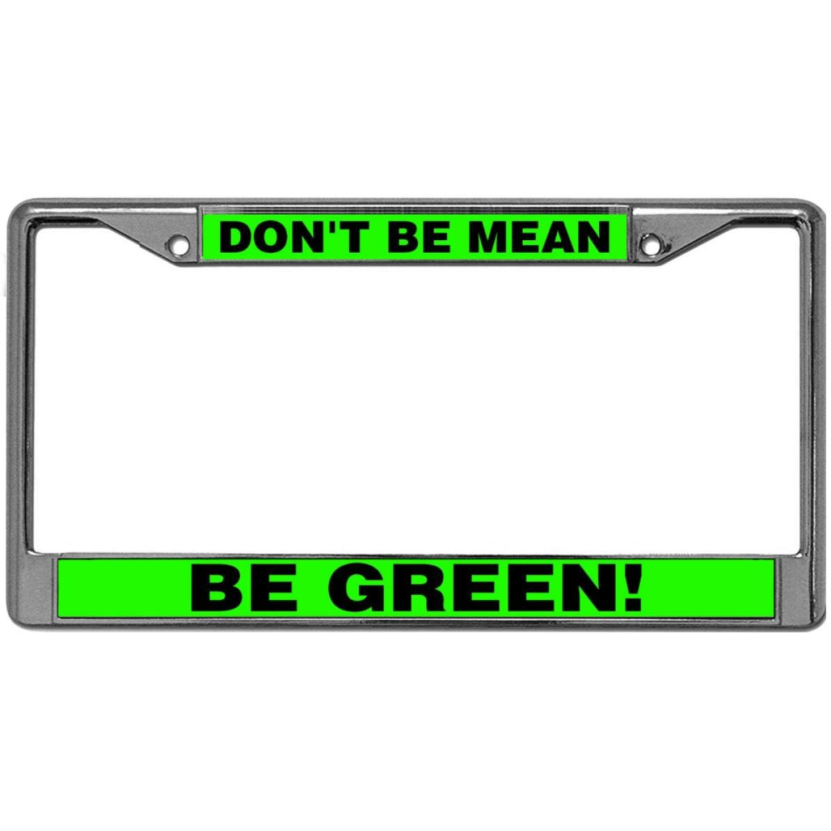 2 x Green Number Plate Holders Frames Licence Plate Surrounds for Any Car