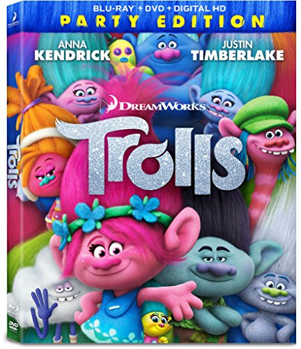 Trolls Movie - Blu-ray, DVD & 4K Ultra HD