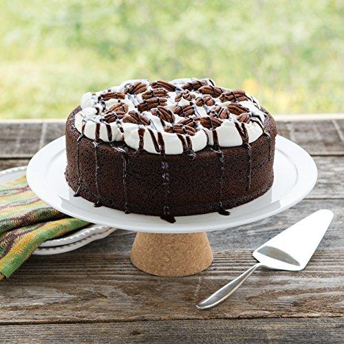 Nordic Ware Naturals Aluminum NonStick Round Cake Pan, 8-Inch