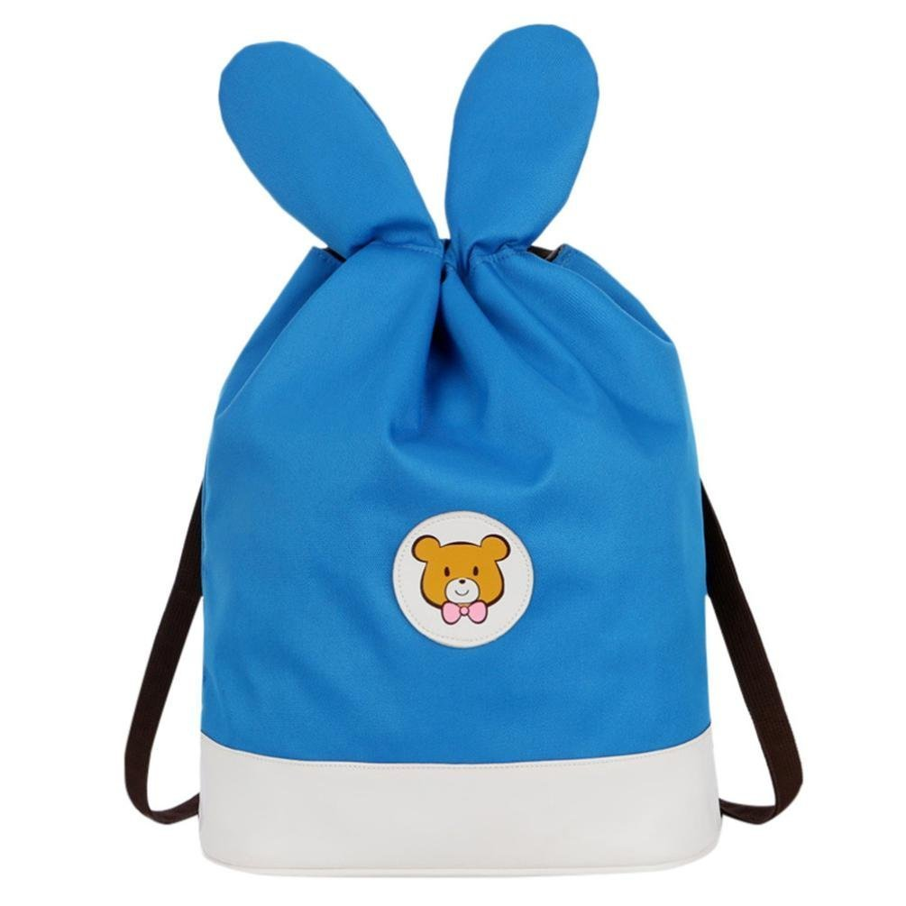 Mother&Me Unisex Adult Mom Cartoon Drawstring Backpack Students School Bags