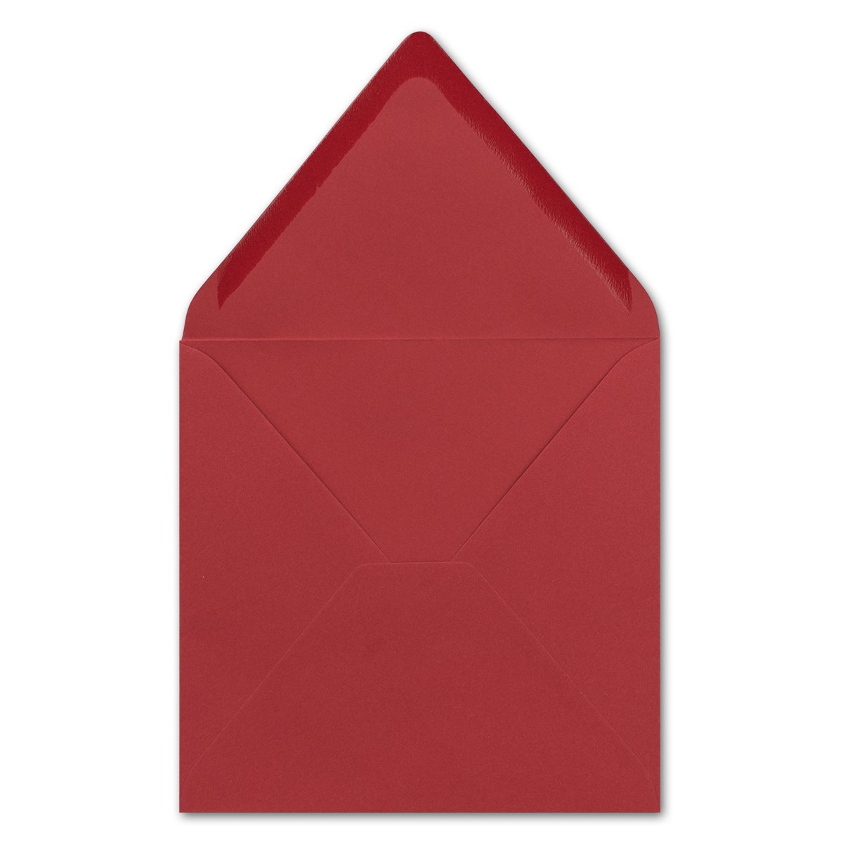 Buste per lettere Quadrate pesante qualit/à/ bagnato a punta////Dalla serie farbenfroh 25 Umschl/äge Dunkelrot mit Struktur 140/X 140/mm /90/G//M/² /molto stabile/