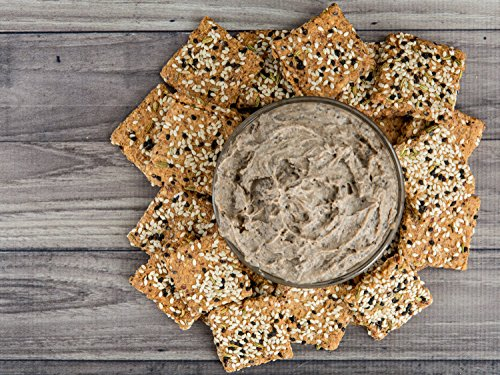 Skinny Crisps Seeded Low Carb & Gluten Free Crackers 4 Ounce Bag (3 Bags) by Skinny Crisps (Image #8)