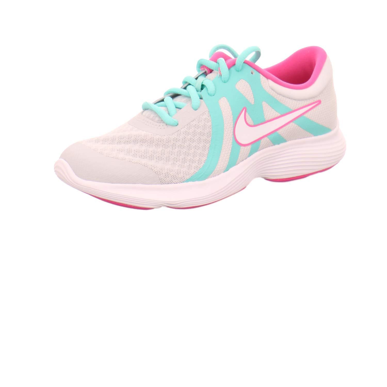 MultiCouleure (Pure Platinum blanc Tropical Twist 000) 38 EU Nike Revolution 4 Aqua (GS), Chaussures d'Athlétisme Femme