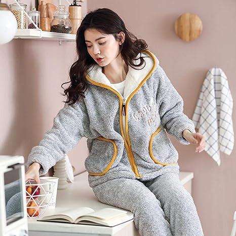 Bayrick Pijamas Mujer Invierno Polar,Pijama Lindo Forro Polar ...