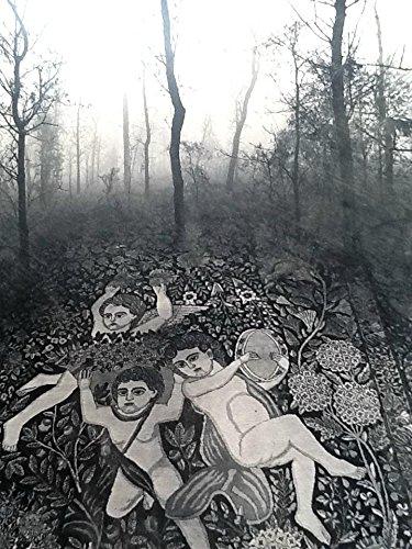 Jerry Uelsmann Original Angels Carpet Platinum Photograph 1976 number 13 of - Technologies Jobs Performance