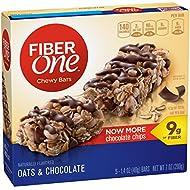Fiber One Chewy Bars, Oats & Chocolate, 1.4 oz.