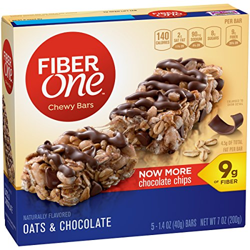Fiber One Chewy Bars, Oats & Chocolate, 1.4 oz. (Oats One Fiber)