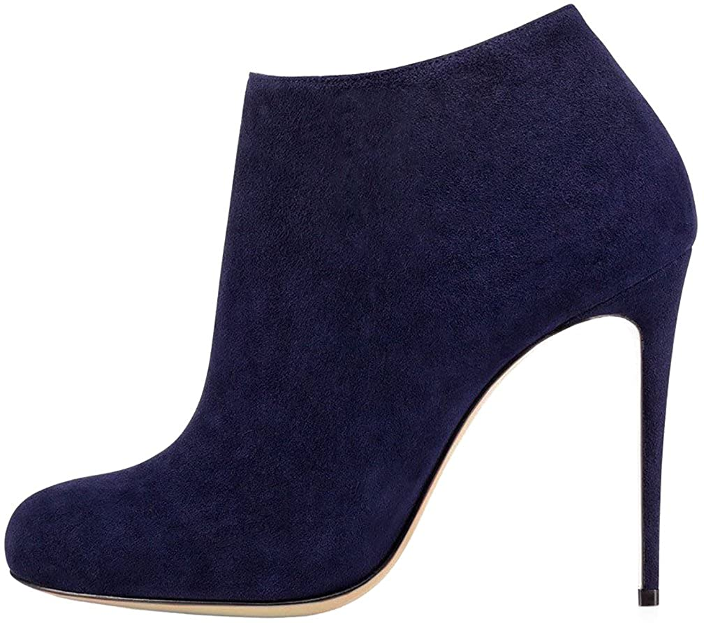 Calaier Caleft Damen Stiefel & Stiefeletten Blau - Blau - Größe  EU 36 5
