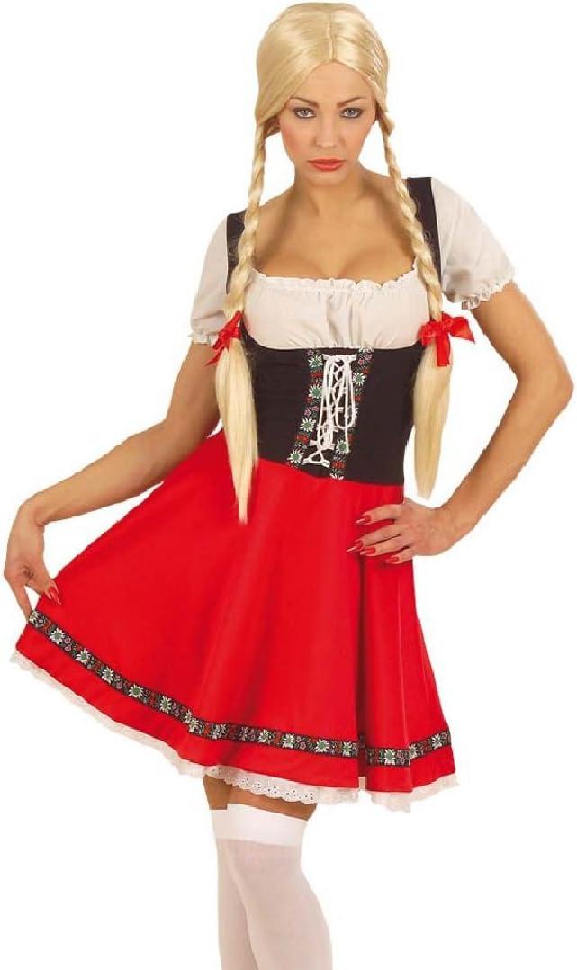 NET TOYS Disfraz del Oktoberfest Heidi Traje: Amazon.es: Juguetes ...